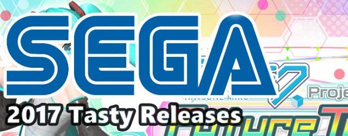 Sega 2017 tasy releases banner
