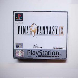 Final Fantasy IX PlayStation 1 front