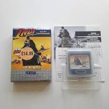 Indiana Jones The Last Crusade game gear