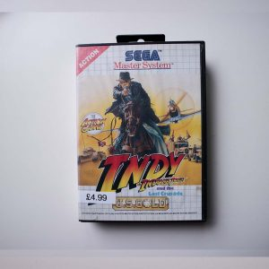 Indiana Jones and the last Crusade SEGA Master system Case front