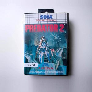 Predator Sega Master System Case Front