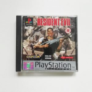 Resident Evil Capcom Platinam PlayStation front