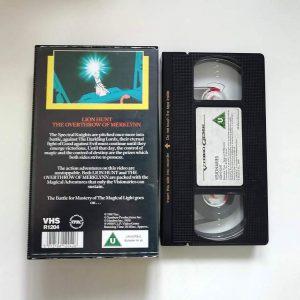 Visionaries Lion Hunt VHS