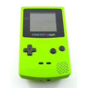 game boy green modle
