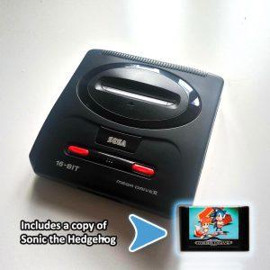 Sega Mega Drive Modle 2 bundle