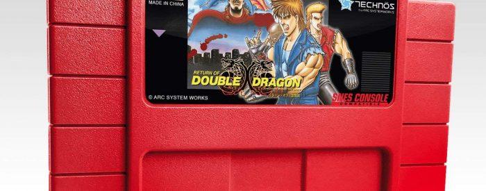 new super double dragon cartridge snes