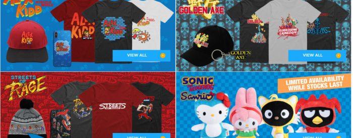 sega shop selection