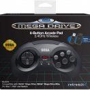 Sega Mega Drive Pad 8 Buttons Wireless front box