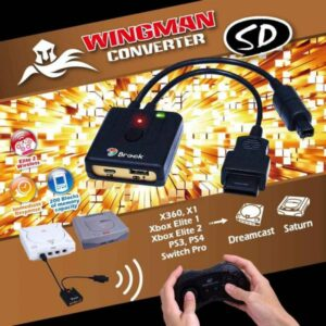 Brook Wingman SD Converter for Sega Dreamcast and Saturn