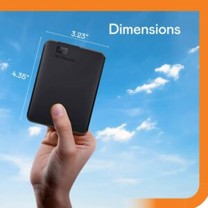 WD 2 TB Elements Portable External Hard Drive